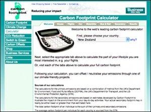 footprint calculators ecological footprint calculator. Black Bedroom Furniture Sets. Home Design Ideas